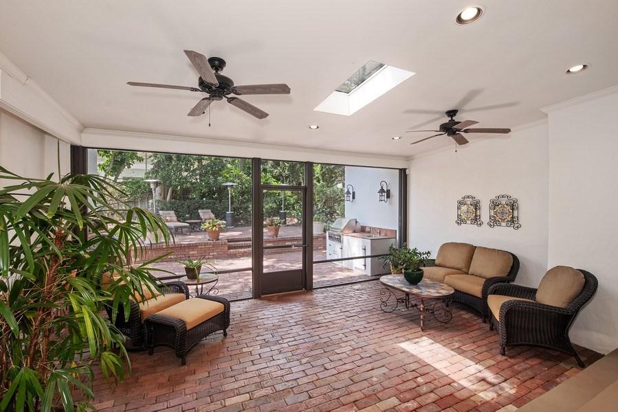 Real Estate Photography - 900 S. Lake Adair Blvd., ORLANDO, FL, 32804 - Covered Lanai
