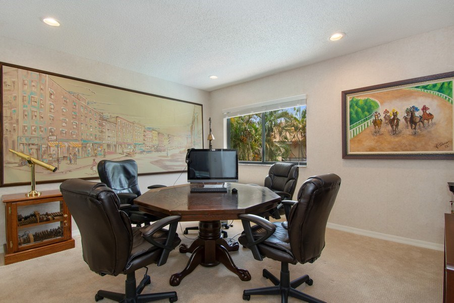Real Estate Photography - 7336 Woodmont Ct, Boca Raton, FL, 33434 - 2nd Bedroom