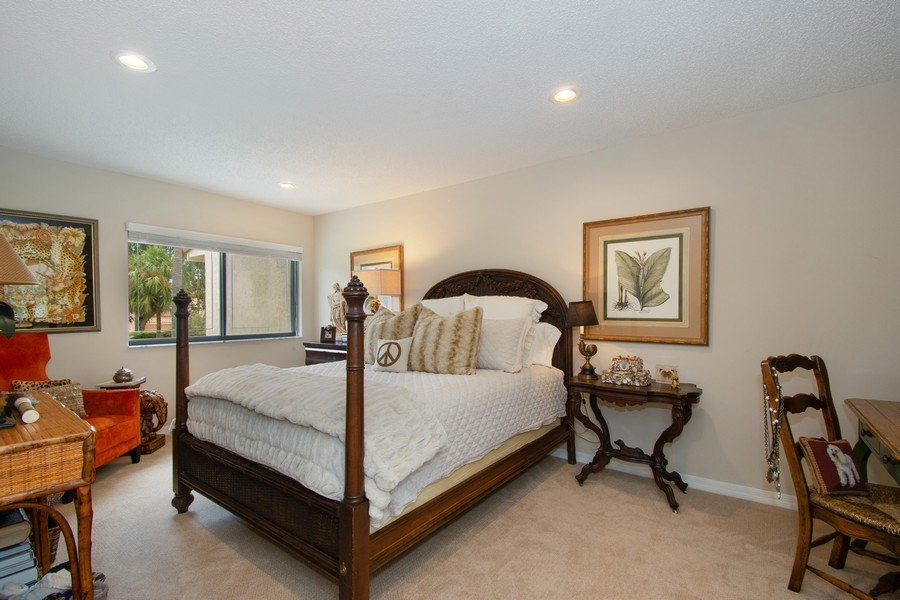 Real Estate Photography - 7336 Woodmont Ct, Boca Raton, FL, 33434 - Bedroom