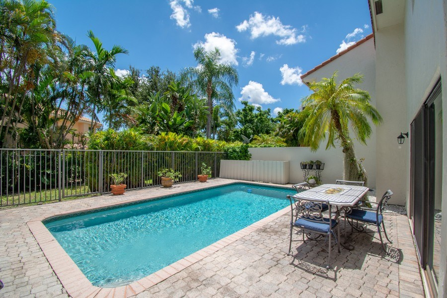 Real Estate Photography - 7336 Woodmont Ct, Boca Raton, FL, 33434 - Pool