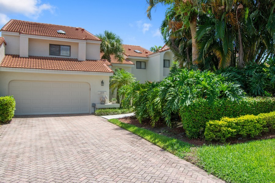 Real Estate Photography - 7336 Woodmont Ct, Boca Raton, FL, 33434 - Front View