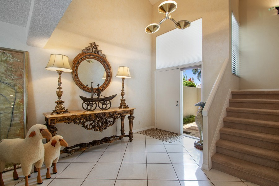 Real Estate Photography - 7336 Woodmont Ct, Boca Raton, FL, 33434 - Foyer