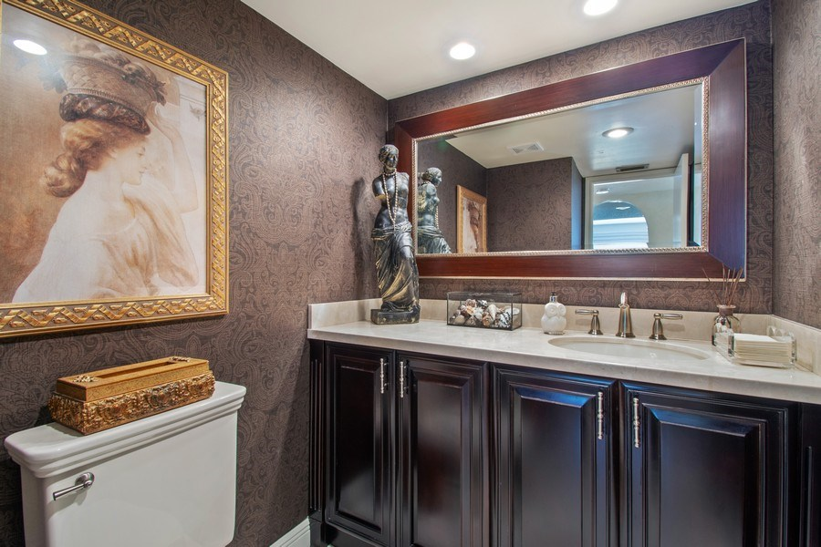 Real Estate Photography - 7336 Woodmont Ct, Boca Raton, FL, 33434 - Bathroom