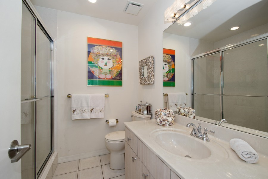 Real Estate Photography - 7336 Woodmont Ct, Boca Raton, FL, 33434 - 2nd Bathroom