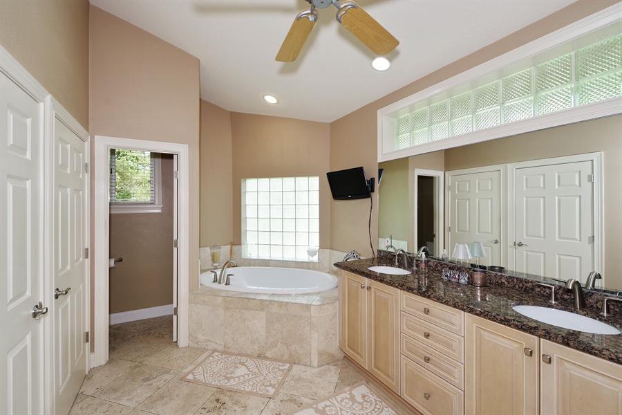 Real Estate Photography - 1741 Fountainhead Drive, Lake Mary, FL, 32746 - Master Bathroom