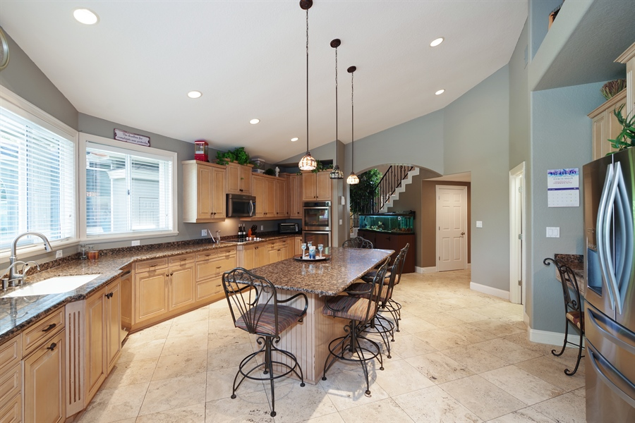 Real Estate Photography - 1741 Fountainhead Drive, Lake Mary, FL, 32746 - Kitchen
