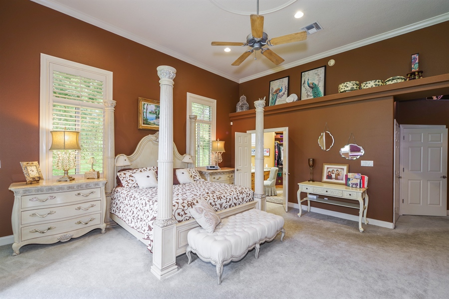 Real Estate Photography - 1741 Fountainhead Drive, Lake Mary, FL, 32746 - Master Bedroom