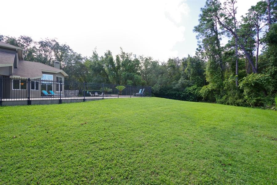 Real Estate Photography - 1741 Fountainhead Drive, Lake Mary, FL, 32746 - Back Yard