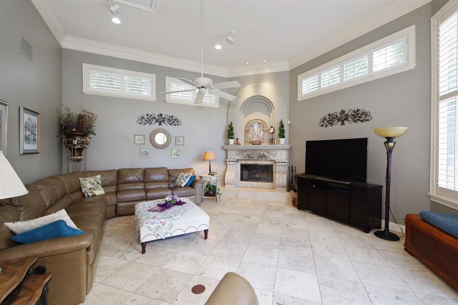 Real Estate Photography - 1741 Fountainhead Drive, Lake Mary, FL, 32746 - Family Room