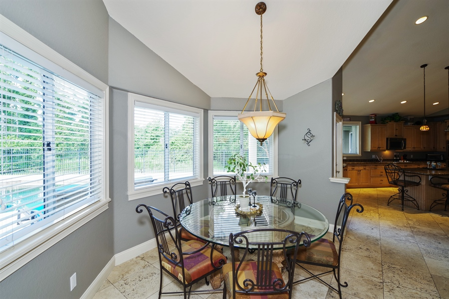 Real Estate Photography - 1741 Fountainhead Drive, Lake Mary, FL, 32746 - Breakfast Nook