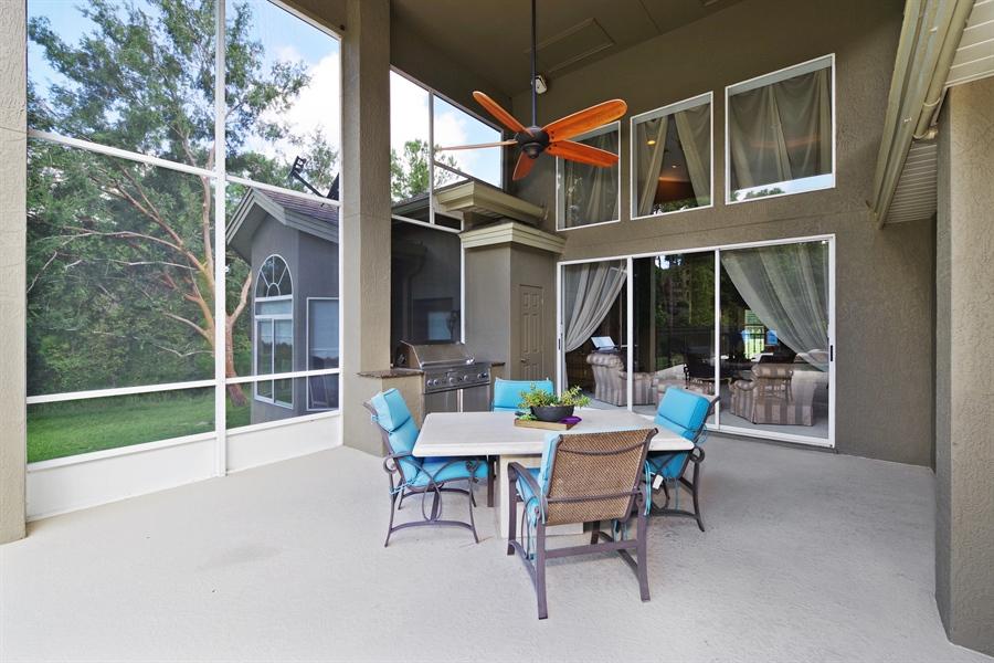Real Estate Photography - 1741 Fountainhead Drive, Lake Mary, FL, 32746 - Patio