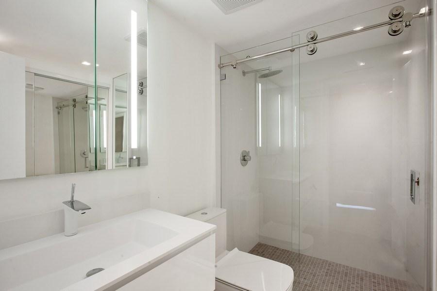 Real Estate Photography - 2 Grove Isle Dr, Unit B410, Coconut Grove, FL, 33133 - Bathroom