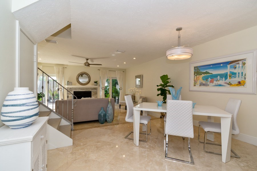 Real Estate Photography - 810 SE 2nd street, #A, Ft Lauderdale, FL, 33301 - Dining Room