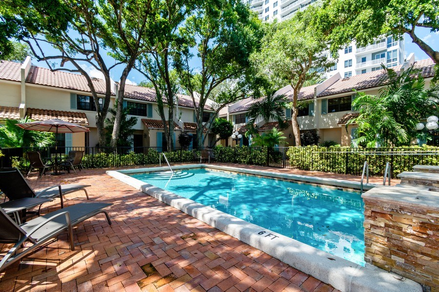 Real Estate Photography - 810 SE 2nd street, #A, Ft Lauderdale, FL, 33301 - Pool