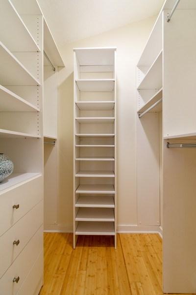 Real Estate Photography - 810 SE 2nd street, #A, Ft Lauderdale, FL, 33301 - Master Bedroom Closet