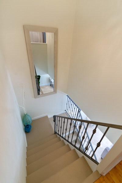 Real Estate Photography - 810 SE 2nd street, #A, Ft Lauderdale, FL, 33301 - Staircase