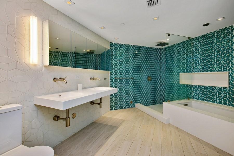 Real Estate Photography - 4775 Collins Ave, 2102, Miami Beach, FL, 33140 - Master Bathroom
