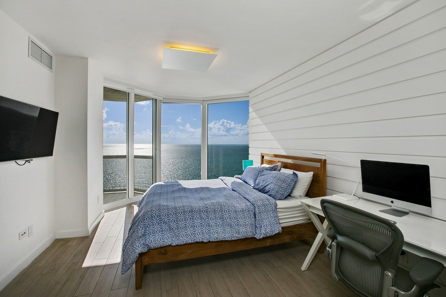 Real Estate Photography - 4775 Collins Ave, 2102, Miami Beach, FL, 33140 - Master Bedroom