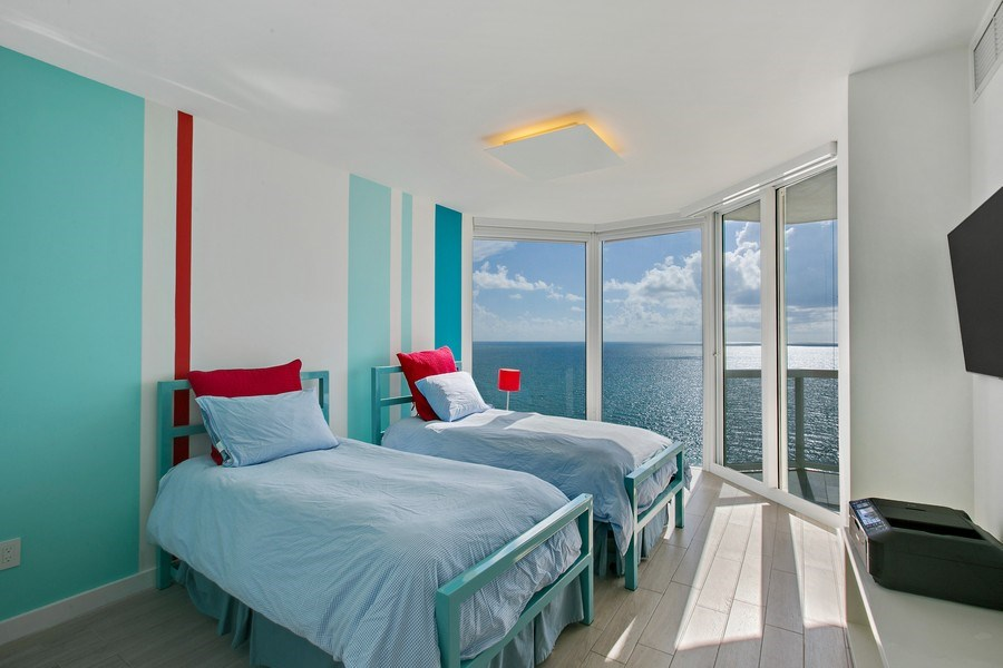 Real Estate Photography - 4775 Collins Ave, 2102, Miami Beach, FL, 33140 - 2nd Bedroom