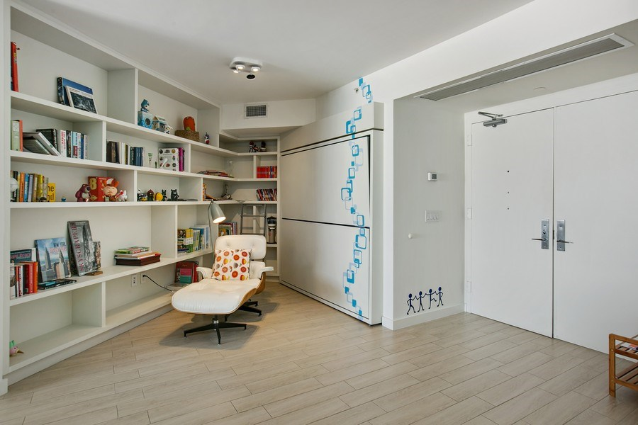 Real Estate Photography - 4775 Collins Ave, 2102, Miami Beach, FL, 33140 - Foyer