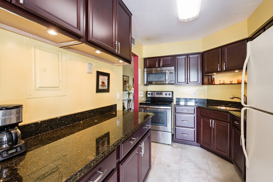 Real Estate Photography - 6201 N Falls Circle Dr, Lauderhill, FL, 33319 - Kitchen
