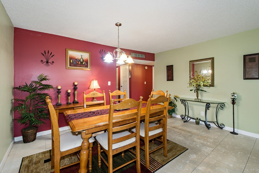 Real Estate Photography - 6201 N Falls Circle Dr, Lauderhill, FL, 33319 - Dining Room