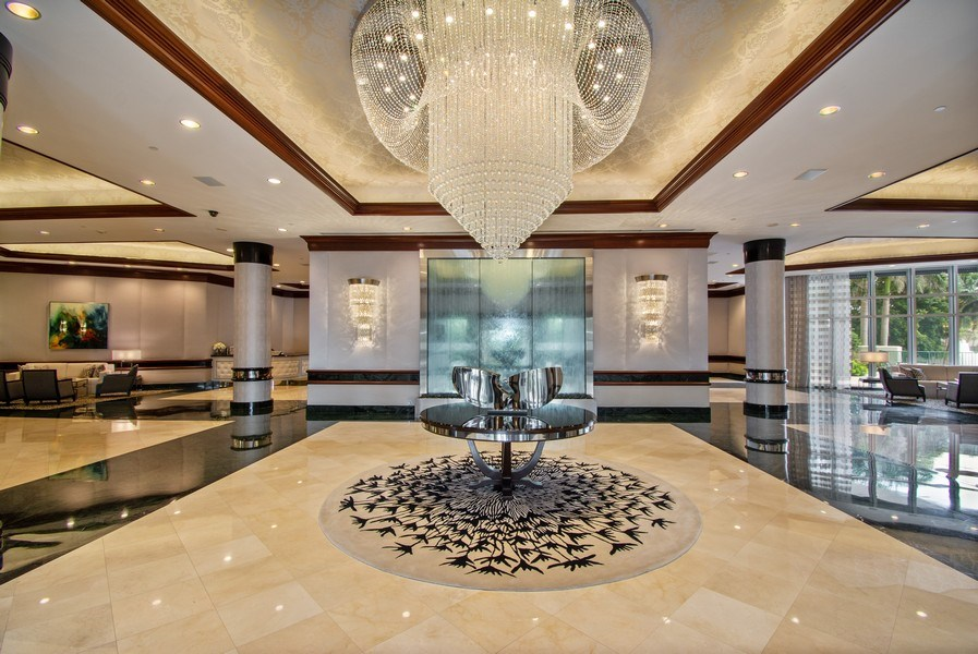 Real Estate Photography - 3100 N Ocean Blvd, Unit 510, Fort Lauderdale, FL, 33308 - Lobby