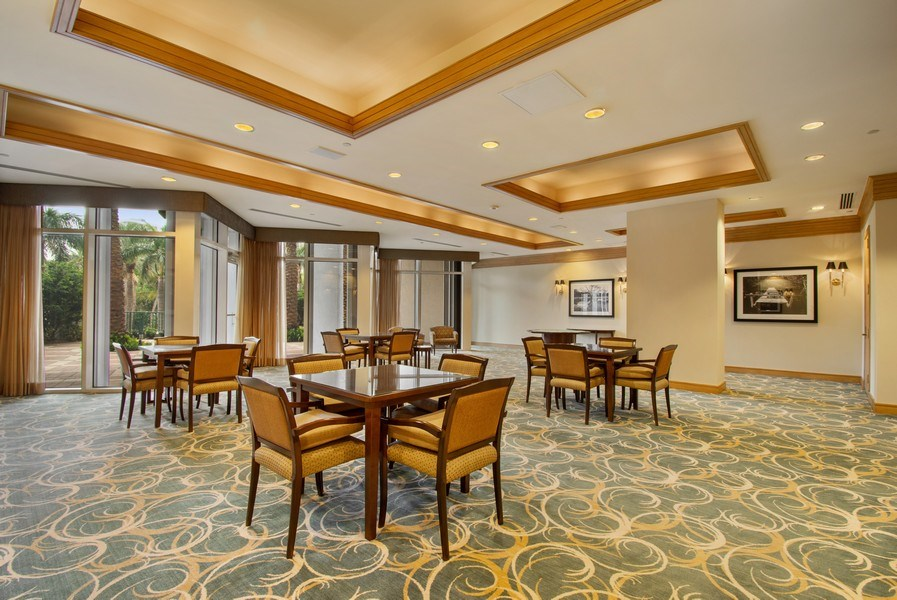 Real Estate Photography - 3100 N Ocean Blvd, Unit 510, Fort Lauderdale, FL, 33308 - Card Room