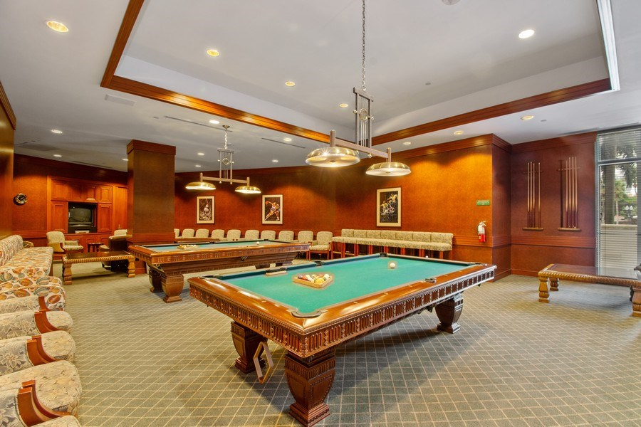 Real Estate Photography - 3100 N Ocean Blvd, Unit 510, Fort Lauderdale, FL, 33308 - Billiards Room/Sports Lounge