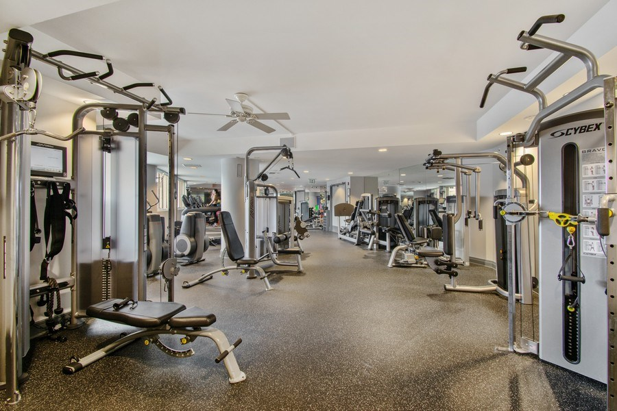 Real Estate Photography - 3100 N Ocean Blvd, Unit 510, Fort Lauderdale, FL, 33308 - Fitness Center/Spa