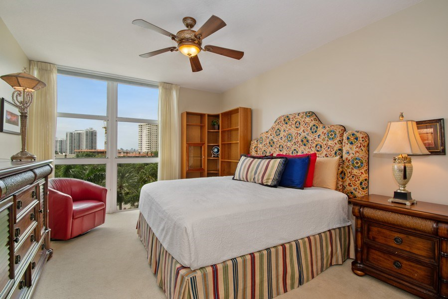 Real Estate Photography - 3100 N Ocean Blvd, Unit 510, Fort Lauderdale, FL, 33308 - Bedroom