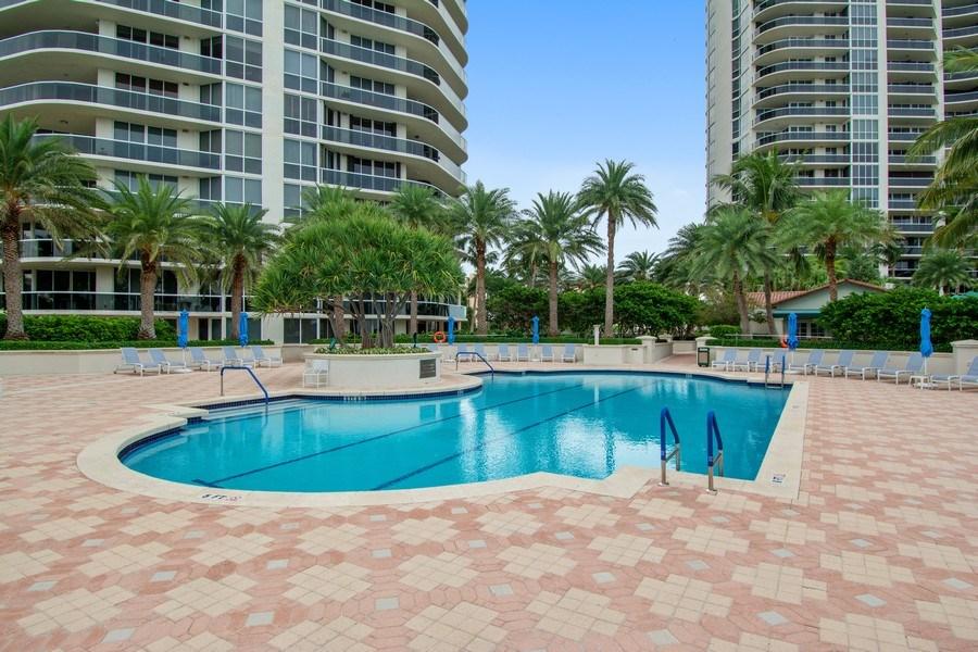 Real Estate Photography - 3100 N Ocean Blvd, Unit 510, Fort Lauderdale, FL, 33308 - Pool