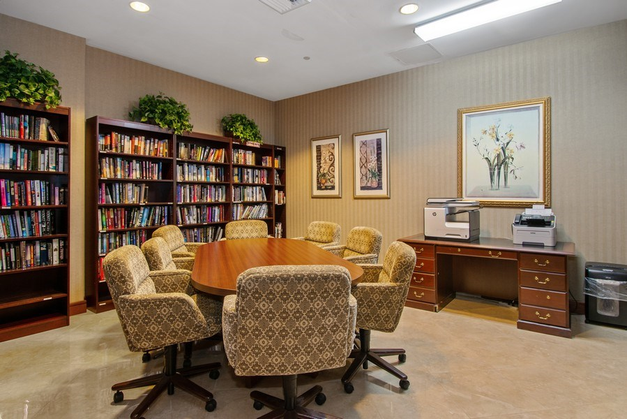 Real Estate Photography - 3100 N Ocean Blvd, Unit 510, Fort Lauderdale, FL, 33308 - Business Center