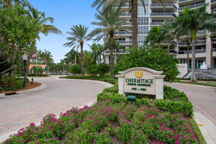Real Estate Photography - 3100 N Ocean Blvd, Unit 510, Fort Lauderdale, FL, 33308 - Entry to Complex