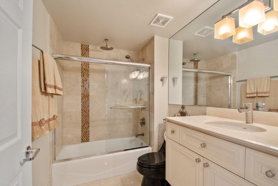 Real Estate Photography - 3100 N Ocean Blvd, Unit 510, Fort Lauderdale, FL, 33308 - Bathroom