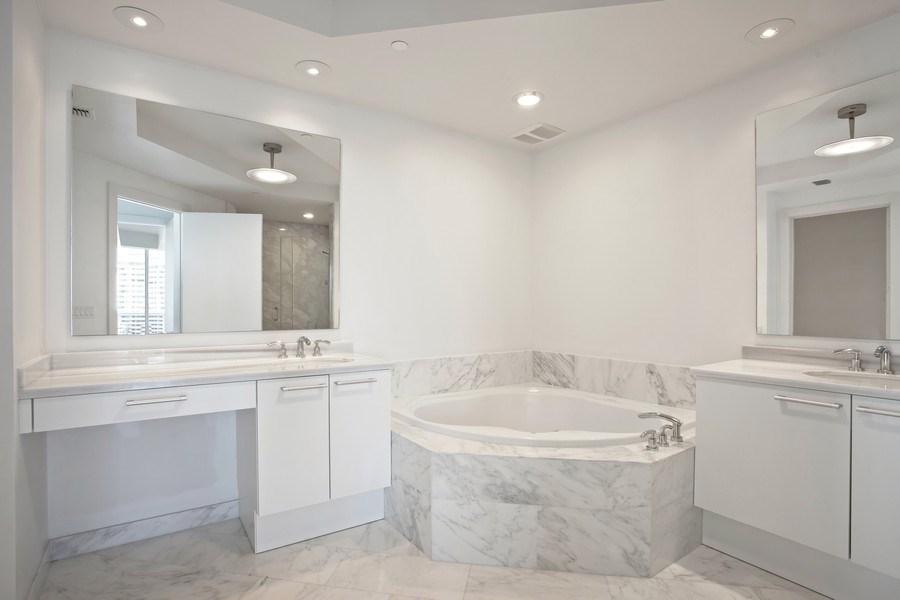 Real Estate Photography - 4100 Island Blvd. #2001, Aventura, FL, 33160 - Master Bathroom