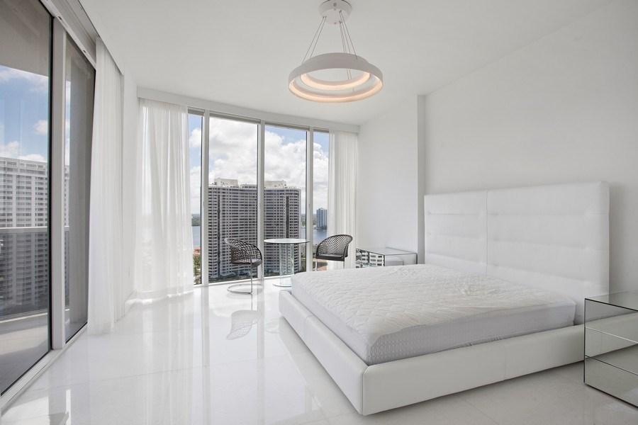Real Estate Photography - 4100 Island Blvd. #2001, Aventura, FL, 33160 - Master Bedroom