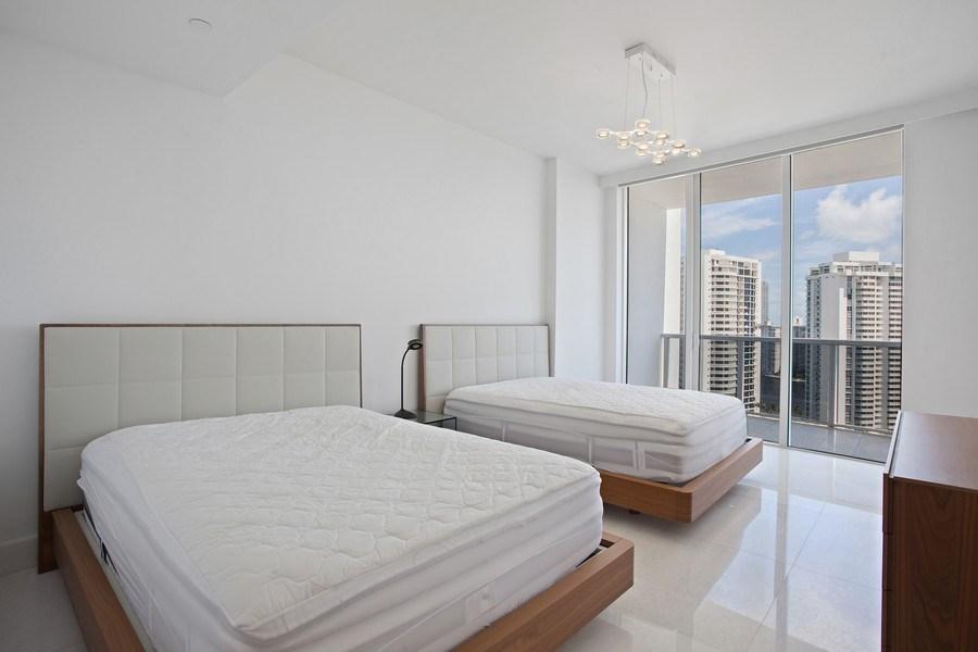 Real Estate Photography - 4100 Island Blvd. #2001, Aventura, FL, 33160 - 3rd Bedroom