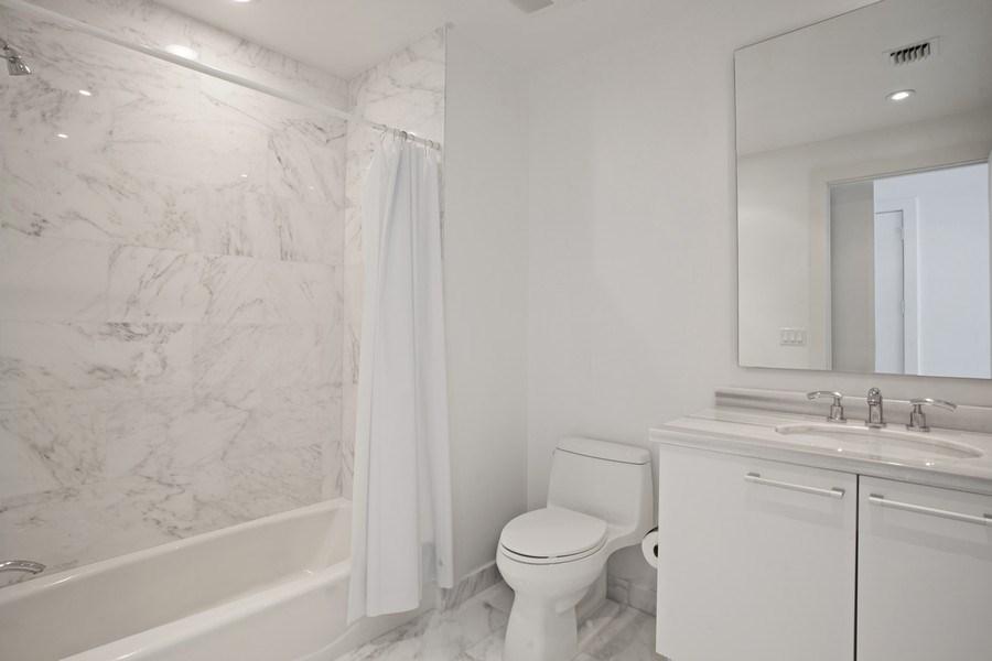 Real Estate Photography - 4100 Island Blvd. #2001, Aventura, FL, 33160 - 2nd Bathroom