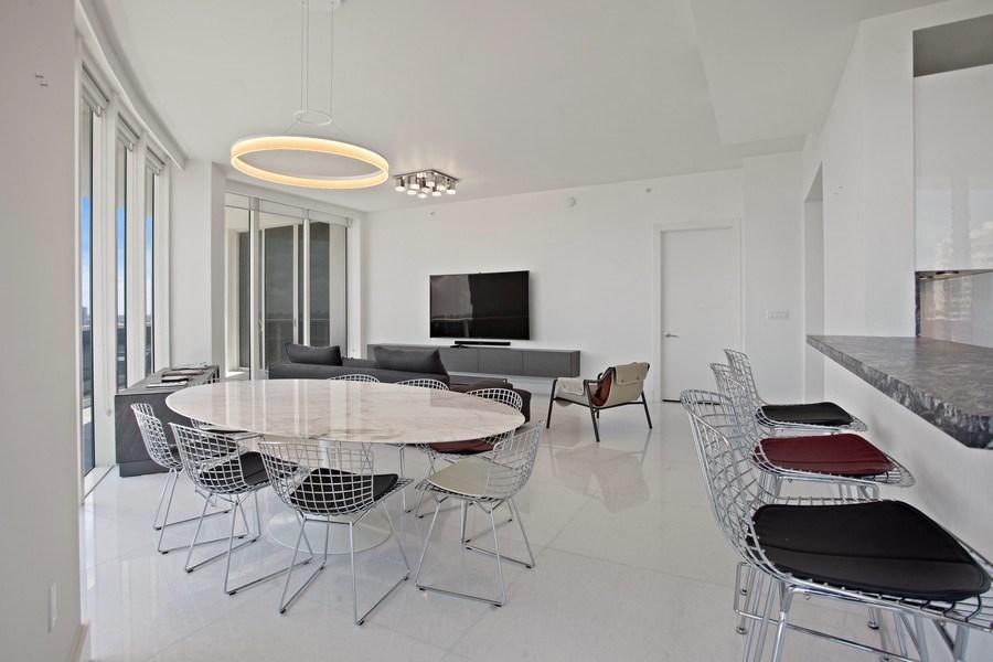 Real Estate Photography - 4100 Island Blvd. #2001, Aventura, FL, 33160 - Kitchen / Dining Room