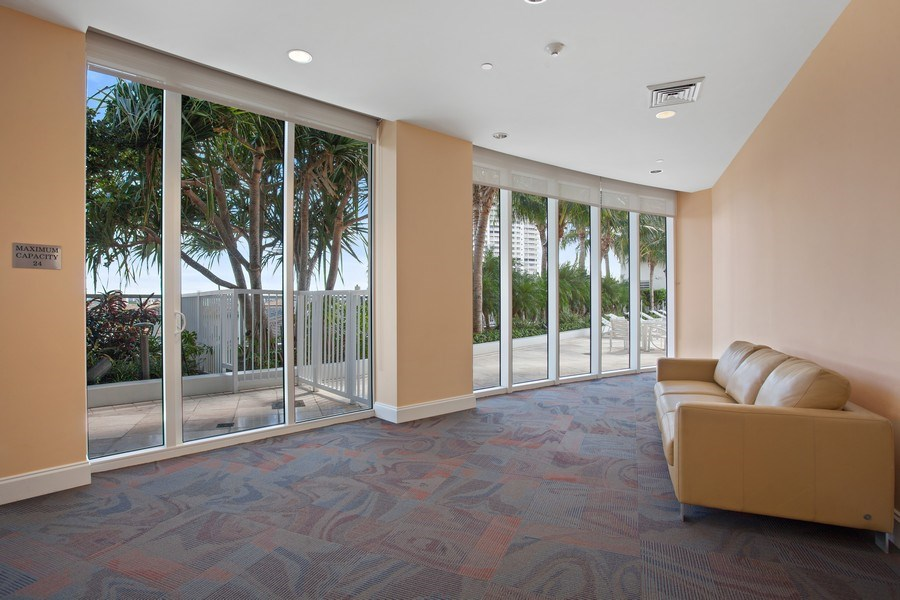 Real Estate Photography - 4100 Island Blvd. #2001, Aventura, FL, 33160 - Play / Recreational Room