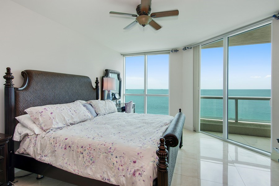Real Estate Photography - 101 S Fort Lauderdale Beach Blvd, 1201, Fort Lauderdale, FL, 33316 - Master Bedroom