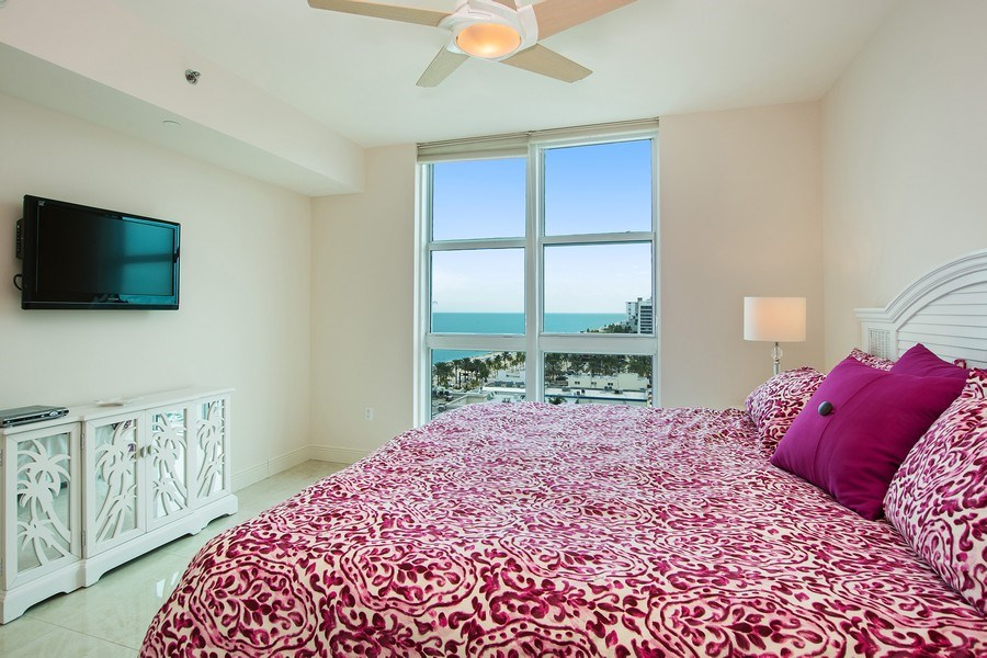 Real Estate Photography - 101 S Fort Lauderdale Beach Blvd, 1201, Fort Lauderdale, FL, 33316 - 3rd Bedroom