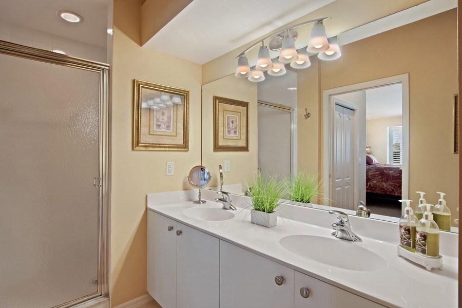 Real Estate Photography - 3860 Sawgrass Way, 2625, Naples, FL, 34112 - Master Bathroom