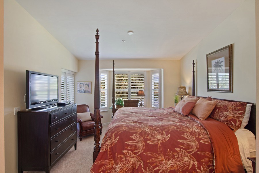 Real Estate Photography - 3860 Sawgrass Way, 2625, Naples, FL, 34112 - Master Bedroom
