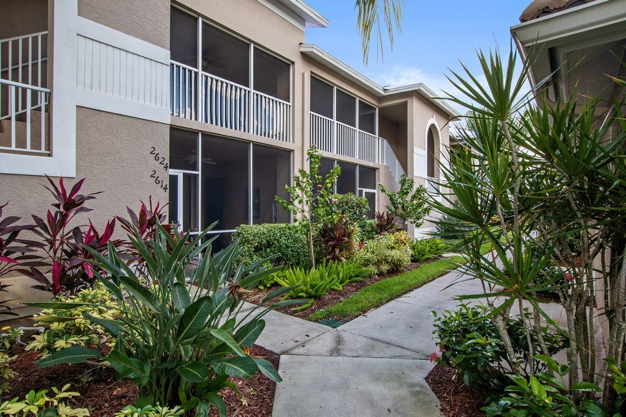 Real Estate Photography - 3860 Sawgrass Way, 2625, Naples, FL, 34112 - Front View