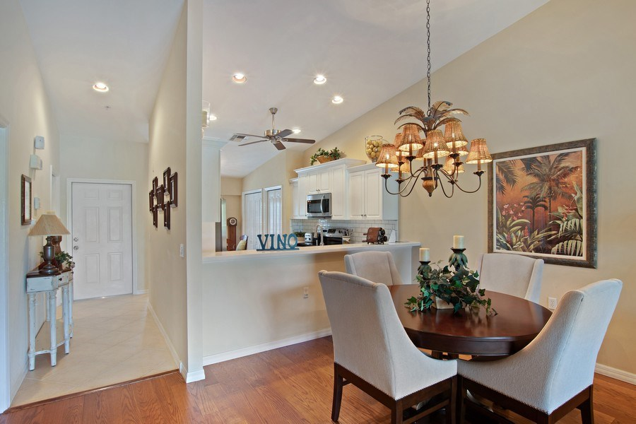 Real Estate Photography - 3860 Sawgrass Way, 2625, Naples, FL, 34112 - Dining Area