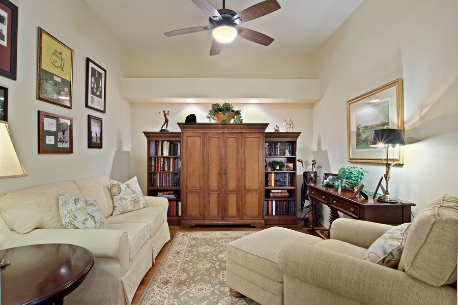 Real Estate Photography - 3860 Sawgrass Way, 2625, Naples, FL, 34112 - Den