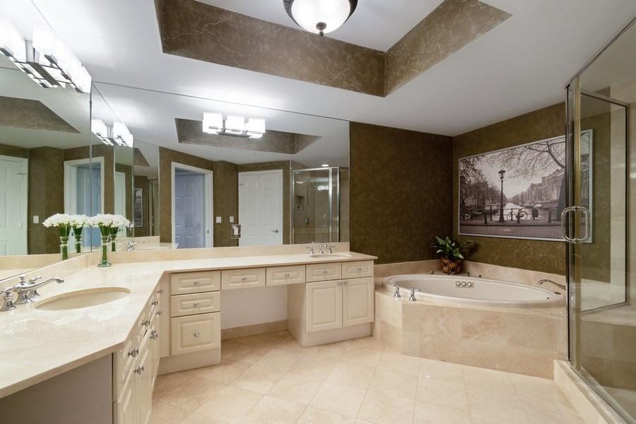 Real Estate Photography - 6051 N Ocean Drive, Unit 603, Hollywood, FL, 33019 - Master Bathroom
