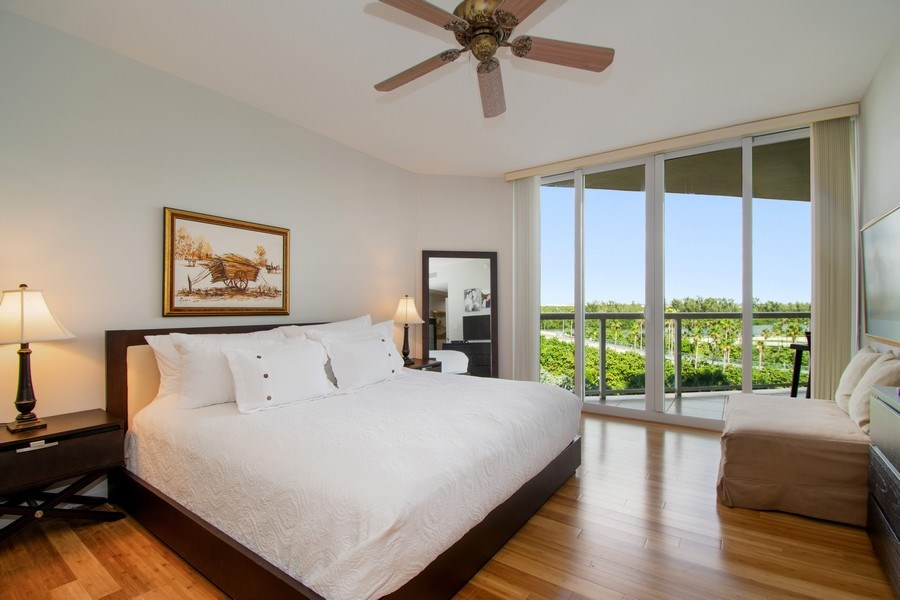 Real Estate Photography - 6051 N Ocean Drive, Unit 603, Hollywood, FL, 33019 - Master Bedroom